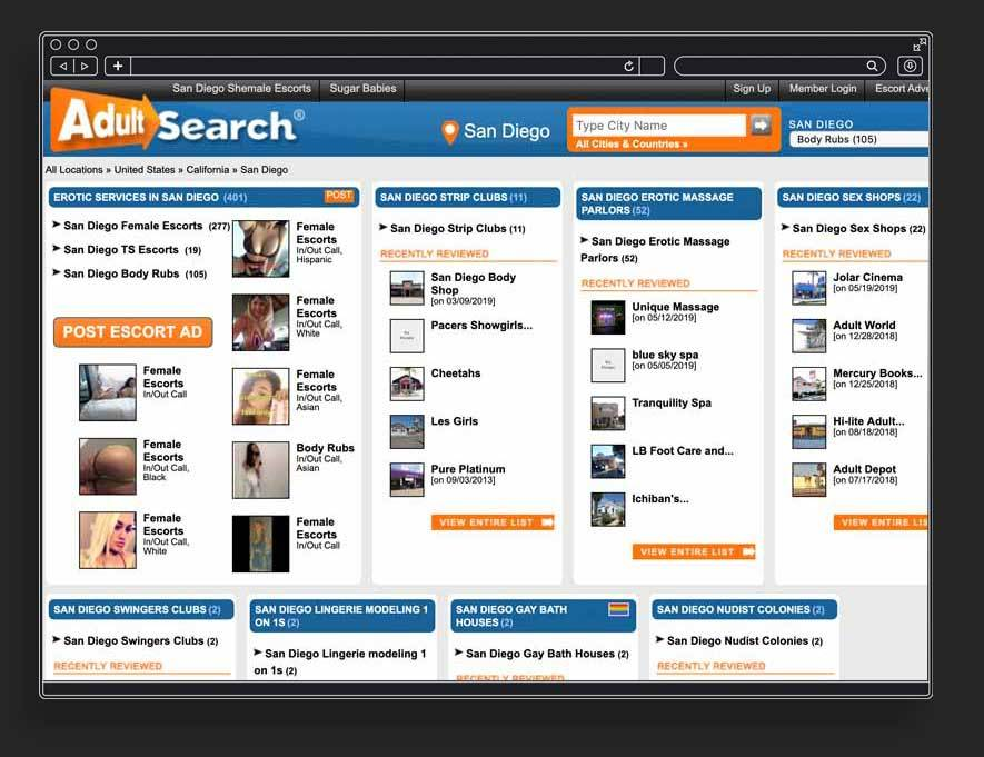 Adult Search Site