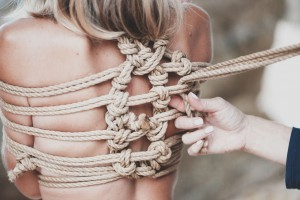 How to tie someone